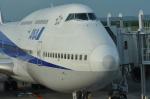 kumagorouさんが、新千歳空港で撮影した全日空 747-481(D)の航空フォト(写真)
