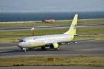 Rossiさんが、関西国際空港で撮影したジンエアー 737-86Nの航空フォト(写真)