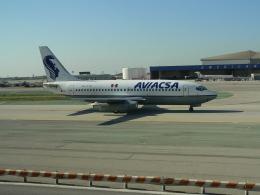 tokadaさんが、ロサンゼルス国際空港で撮影したアビアクサ 737-201/Advの航空フォト(飛行機 写真・画像)
