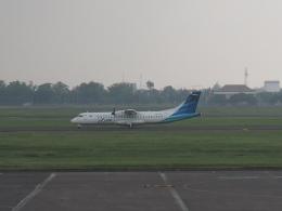 Courierpochiさんが、ジュアンダ国際空港で撮影したガルーダ・インドネシア航空 ATR 72-600の航空フォト(飛行機 写真・画像)