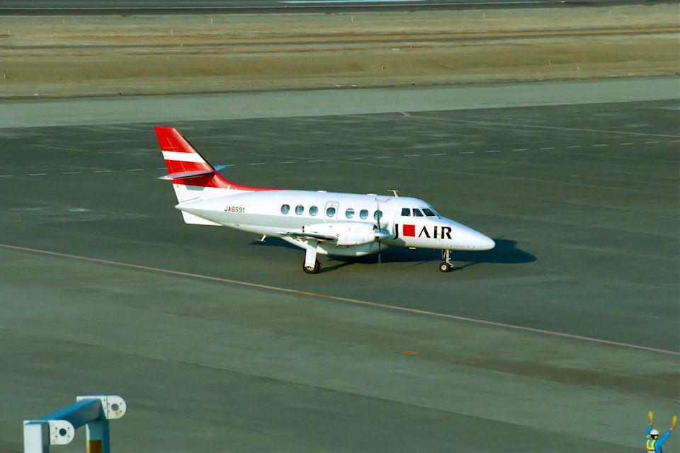 はるさんのジェイ・エア British Aerospace Jetstream 31/Super 31 (JA8591) 航空フォト