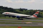 こだしさんが、成田国際空港で撮影したブリティッシュ・エアウェイズ 777-236/ERの航空フォト(写真)