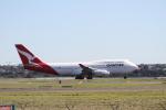 島国旅人さんが、シドニー国際空港で撮影したカンタス航空 747-438の航空フォト(写真)