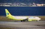 T.Sazenさんが、関西国際空港で撮影したジンエアー 737-8SHの航空フォト(写真)