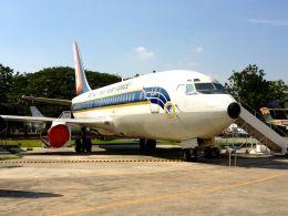 まいけるさんが、ドンムアン空港で撮影したタイ王国空軍 737-2Z6/Advの航空フォト(飛行機 写真・画像)
