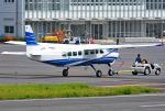 tsubasa0624さんが、調布飛行場で撮影した共立航空撮影 208B Grand Caravanの航空フォト(飛行機 写真・画像)
