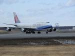 鬼の手さんが、新千歳空港で撮影したチャイナエアライン 747-409の航空フォト(写真)