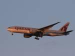 いぶき501さんが、成田国際空港で撮影したカタール航空 777-2DZ/LRの航空フォト(写真)