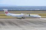 kumagorouさんが、奄美空港で撮影した日本エアコミューター DHC-8-402Q Dash 8の航空フォト(飛行機 写真・画像)