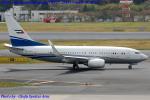 Chofu Spotter Ariaさんが、成田国際空港で撮影したロイヤル・ジェット 737-7BC BBJの航空フォト(飛行機 写真・画像)