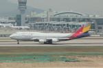 resocha747さんが、仁川国際空港で撮影したアシアナ航空 747-48Eの航空フォト(写真)