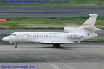 Chofu Spotter Ariaさんが、羽田空港で撮影したエア・アルジー - Air Alsie Falcon 7Xの航空フォト(飛行機 写真・画像)