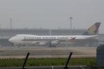 山河 彩さんが、関西国際空港で撮影したシンガポール航空カーゴ 747-412F/SCDの航空フォト(写真)