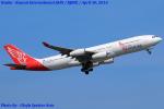 Chofu Spotter Ariaさんが、関西国際空港で撮影したエア・レジャー A340-212の航空フォト(飛行機 写真・画像)