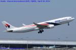Chofu Spotter Ariaさんが、関西国際空港で撮影したマレーシア航空 A330-323Xの航空フォト(写真)