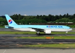 じーく。さんが、成田国際空港で撮影した大韓航空 777-2B5/ERの航空フォト(飛行機 写真・画像)