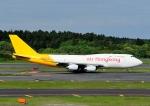 じーく。さんが、成田国際空港で撮影したエアー・ホンコン 747-467(BCF)の航空フォト(飛行機 写真・画像)