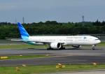 じーく。さんが、成田国際空港で撮影したガルーダ・インドネシア航空 777-3U3/ERの航空フォト(写真)