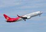 じーく。さんが、成田国際空港で撮影した深圳航空 737-86Nの航空フォト(飛行機 写真・画像)
