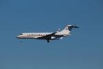 Koenig117さんが、ワシントン・ダレス国際空港で撮影したアメリカ個人所有 BD-700-1A10 Global Expressの航空フォト(写真)