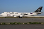 つみネコ♯2さんが、関西国際空港で撮影したタイ国際航空 747-4D7の航空フォト(写真)