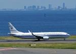 じーく。さんが、羽田空港で撮影したクウェート政府 737-9BQ/ER BBJ3の航空フォト(写真)