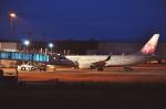 ピリンダさんが、静岡空港で撮影したチャイナエアライン 737-8MAの航空フォト(写真)
