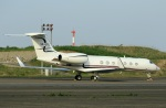 スポット110さんが、羽田空港で撮影したジェット・エイビエーション G-V-SP Gulfstream G550の航空フォト(写真)