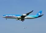 じーく。さんが、成田国際空港で撮影したエア・タヒチ・ヌイ A340-313Xの航空フォト(飛行機 写真・画像)