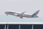 山河 彩さんが、関西国際空港で撮影したジェットスター 787-8 Dreamlinerの航空フォト(飛行機 写真・画像)