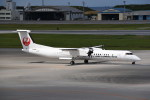 kumagorouさんが、那覇空港で撮影した琉球エアーコミューター DHC-8-402Q Dash 8の航空フォト(写真)