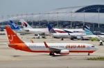 ハピネスさんが、関西国際空港で撮影したチェジュ航空 737-8Q8の航空フォト(飛行機 写真・画像)
