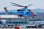 Dojalanaさんが、函館空港で撮影した北海道警察 AW139の航空フォト(写真)