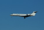 Koenig117さんが、ワシントン・ダレス国際空港で撮影したアメリカ個人所有 G-V Gulfstream Vの航空フォト(写真)