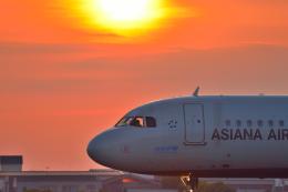 サボリーマンさんが、松山空港で撮影したアシアナ航空 A321-231の航空フォト(写真)