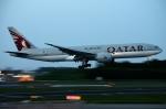 木人さんが、成田国際空港で撮影したカタール航空 777-2DZ/LRの航空フォト(写真)