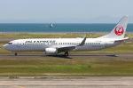 いおりさんが、山口宇部空港で撮影したJALエクスプレス 737-846の航空フォト(写真)
