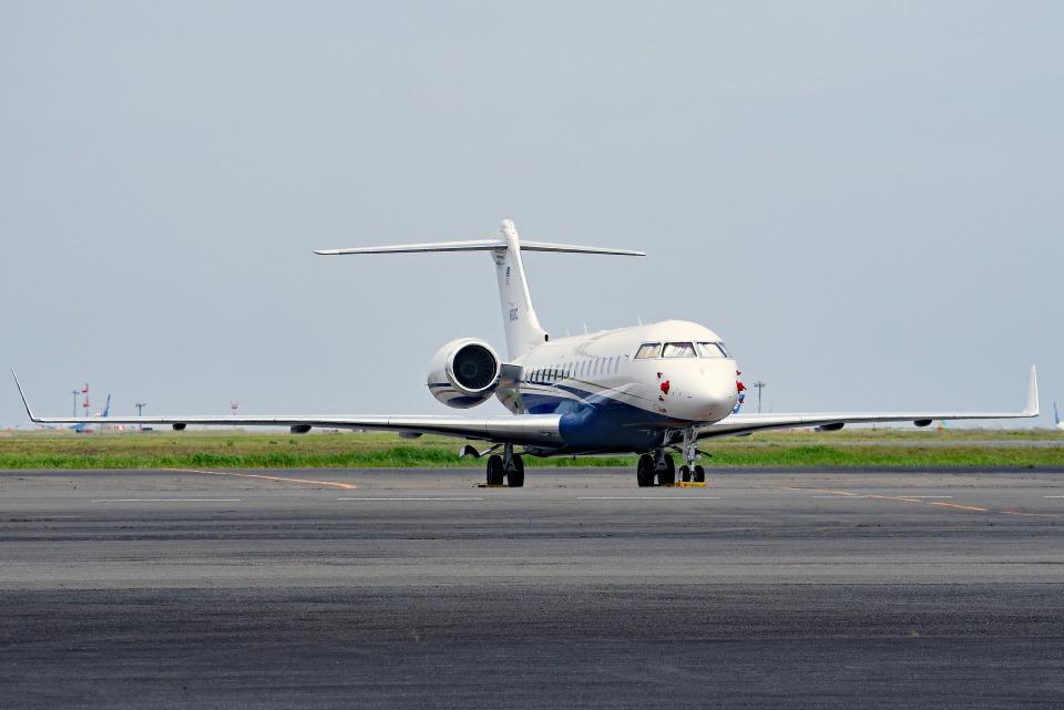 tsubasa0624さんのユタ銀行 Bombardier BD-700 Global Express/5000/6000 (N60XC) 航空フォト