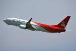 tsubasa0624さんが、関西国際空港で撮影した深圳航空 737-86Nの航空フォト(飛行機 写真・画像)