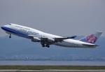tsubasa0624さんが、関西国際空港で撮影したチャイナエアライン 747-409の航空フォト(写真)