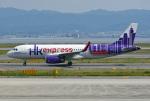 tsubasa0624さんが、関西国際空港で撮影した香港エクスプレス A320-232の航空フォト(飛行機 写真・画像)