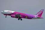 tsubasa0624さんが、関西国際空港で撮影したピーチ A320-214の航空フォト(飛行機 写真・画像)