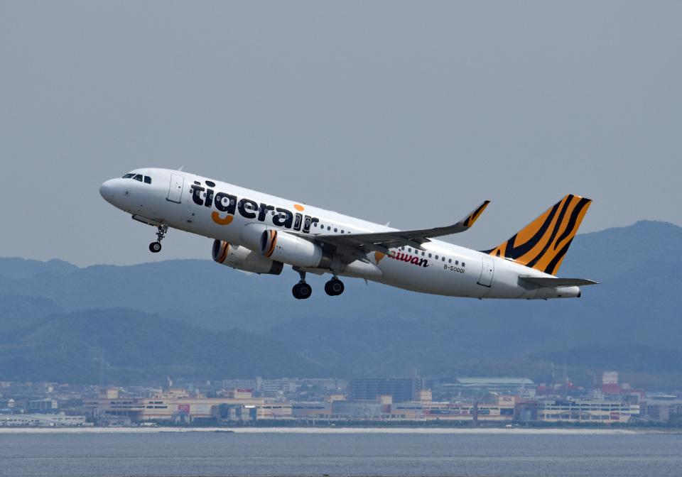tsubasa0624さんのタイガーエア台湾 Airbus A320 (B-50001) 航空フォト