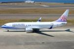 Kuuさんが、中部国際空港で撮影したチャイナエアライン 737-8Q8の航空フォト(飛行機 写真・画像)