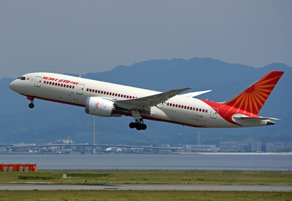 tsubasa0624さんのエア・インディア Boeing 787-8 Dreamliner (VT-ANL) 航空フォト