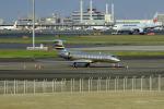 tsubasa0624さんが、羽田空港で撮影したイタリア企業所有 G-V-SP Gulfstream G550の航空フォト(写真)