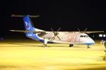 Kuuさんが、鹿児島空港で撮影したオーロラ DHC-8-311Q Dash 8の航空フォト(飛行機 写真・画像)