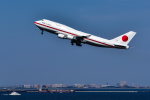 パンダさんが、羽田空港で撮影した航空自衛隊 747-47Cの航空フォト(飛行機 写真・画像)