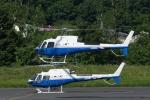 あきらっすさんが、調布飛行場で撮影した東邦航空 AS350B3 Ecureuilの航空フォト(写真)