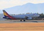 ふじいあきらさんが、広島空港で撮影したアシアナ航空 A320-232の航空フォト(飛行機 写真・画像)